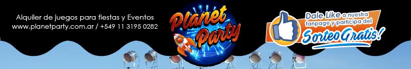 Alquiler de juegos - Planet Party